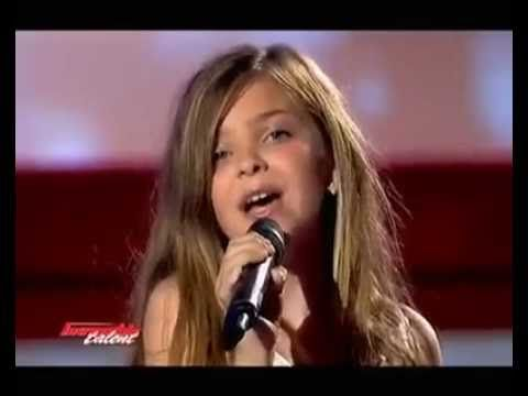 This is not an official Glee moment yet this little girl sings like a pro! And her french accent does not really make that much of a difference...