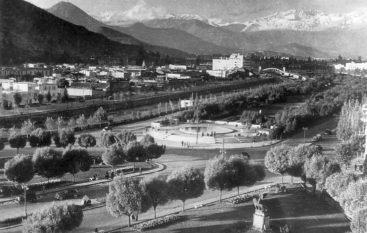 Providencia de Santiago, año 1940.