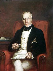 Major-General Sir George Arthur (1784-1854) was born in Plymouth, Devon, England. He was Lt Governor of BritishHonduras (1814-22), VanDiemen's Land (now the State of Tasmania, part of Australia) (1823-37) and Upper Canada (1838-41). He also served as Gov of Bombay (1842-46).