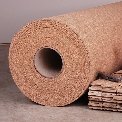 4' width x 50' length x 6mm thick Cork Underlayment
