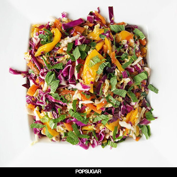 Taste the Rainbow With Spicy Mango, Papaya, and Cabbage Slaw