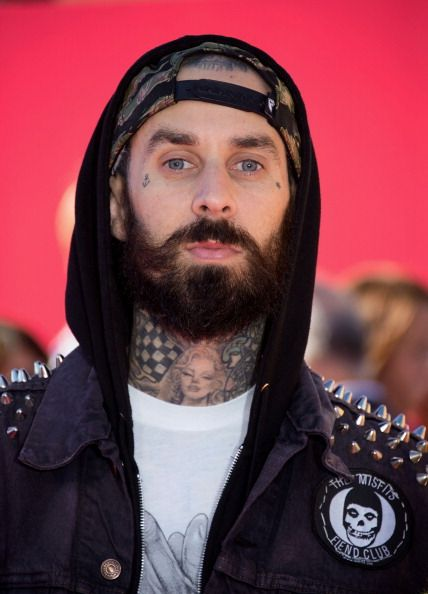 Travis Barker BEARDED