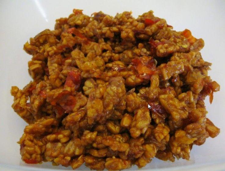 Indonesian Spiced Tempeh (Sambal Goreng) @ http://allrecipes.com.au