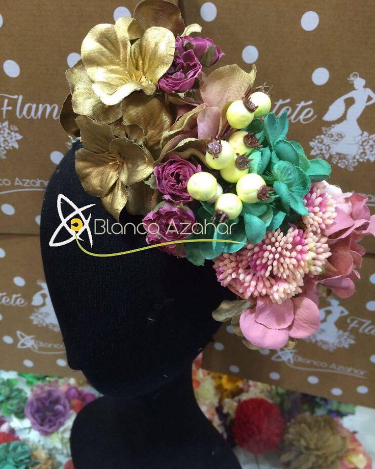 Ramillete de flores. Bouquet of flowers.