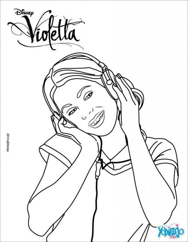 Dibujos De Violeta Para Colorear Coloring Pages Disney Jessie Disney