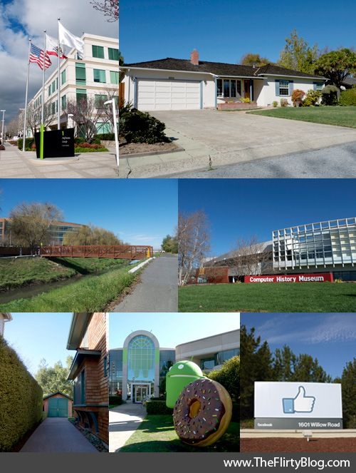 The ultimate Silicon Valley landmarks tour for geeky tourists: Part 1. From The Flirty Guide.
