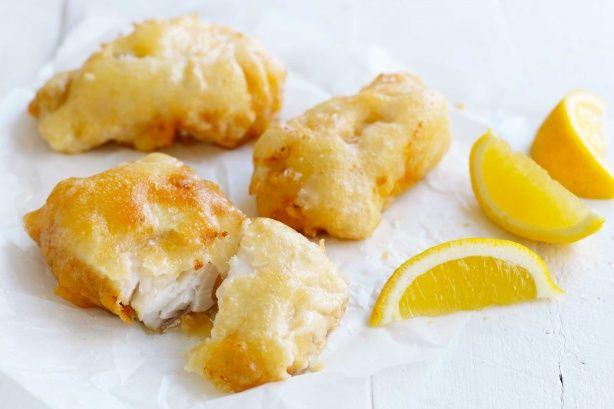 Crispy fish batter