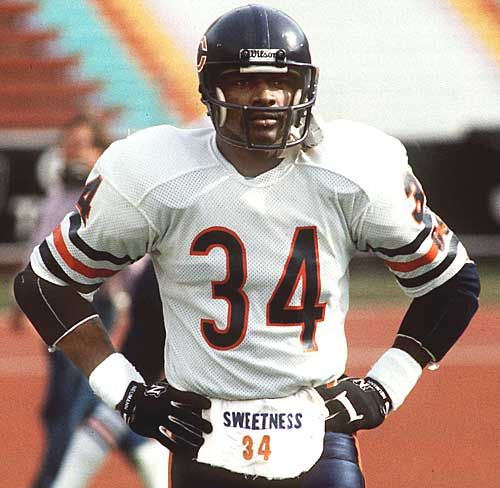 Remembering the late Walter Payton today 7/25/12) on his 58th Birthday. Thanks for the memories!