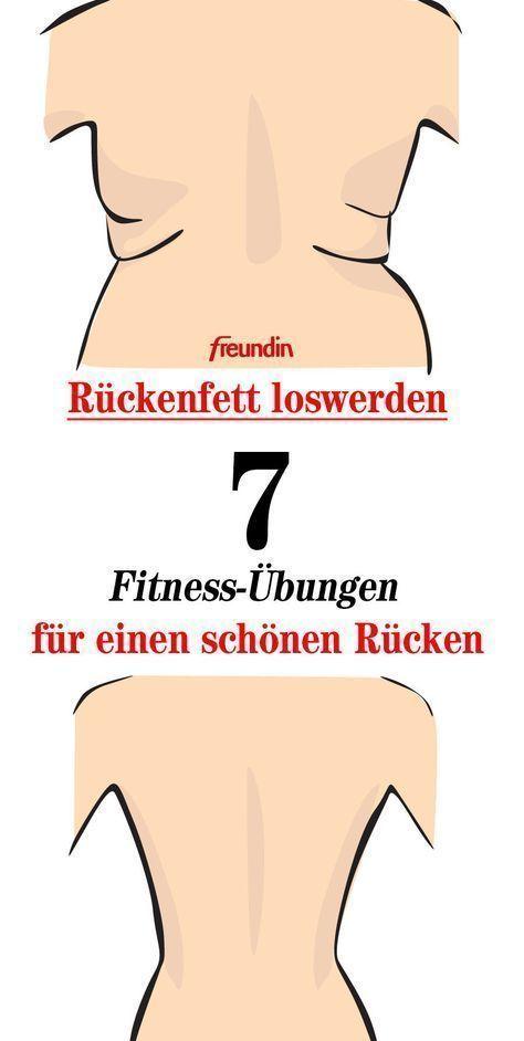 Sieben Übungen für einen schönen Rücken
