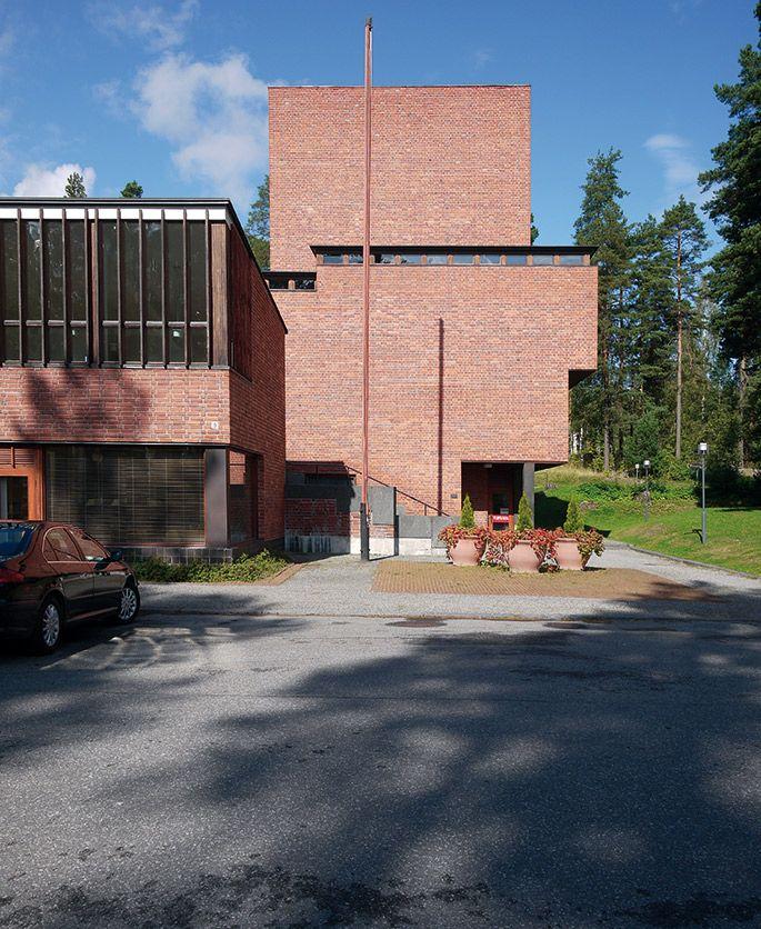 a+t - Alvar Aalto. Säynätsalo Town Hall. Jyväskylä. Finland 1949-52