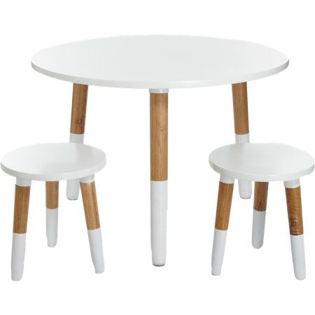 Little Nest Furnishings Little Dipper Table And Chairs Set At Barneys.com