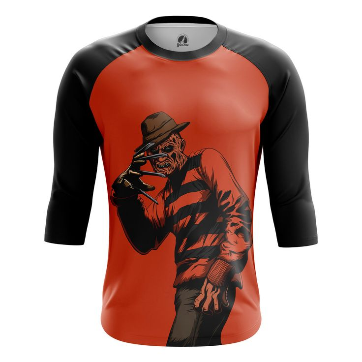 Marvelous Mens Raglan Krueger A Nightmare on Elm Street   – Search tags:  #boysclothes #Buymensraglansuk #menclothes #mensraglanaustralia #mensraglancanada #moviesmerchandise #raglanforboys #tvseriesmerchandiseRaglanT-Shirts Check more at https://idolstore.net/shop/categories/apparels-clothes/boys-raglan-krueger-a-nightmare-on-elm-street-merch/