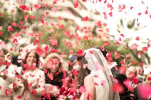 19 Alternatives to Throwing Rice at the Bride & Groom