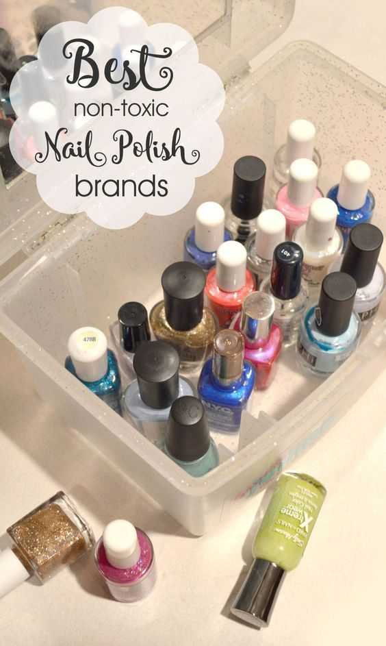 Best 3-free non toxic nail polish brands for kids - Mommy Scene - Safe nail polish for kids