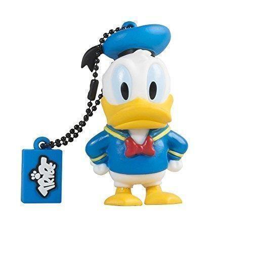 Oferta: 11.69€ Dto: -20%. Comprar Ofertas de Tribe Disney Donald Duck - Memoria USB 2.0 de 8 GB Pendrive Flash Drive de goma con llavero, multicolor barato. ¡Mira las ofertas!