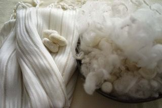 """""""The self-healing attributes and arrangement of its molecular hydrogen bonds make silk pliant and one of the strongest materials on earth, tougher even than steel, 'pound for pound'. A vampire fiber,  its only vulnerability is prolonged exposure to direct sunlight."""" (#JennifersHamam) #silk #weaving #naturalfibers"""