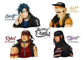 The Street Punk Boys by SirConcon