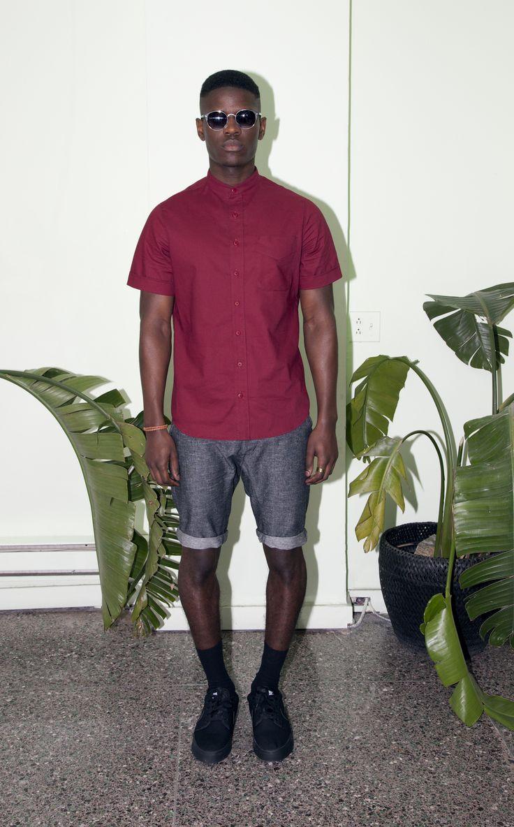 Collection Printemps Été 2016 Of Sharks & Men  Ernesto cotton shirt Logan linen/cotton shorts