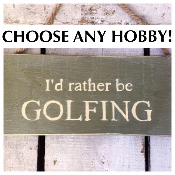 Gift for Men. Golf Sign. I'd Rather Be Golfing. Gift For Dad. Dad Gift. Customised Sign.  Hobby Sign. Personalised Gift. Christmas Gift Idea by InspirationToArt on Etsy https://www.etsy.com/uk/listing/527606677/gift-for-men-golf-sign-id-rather-be