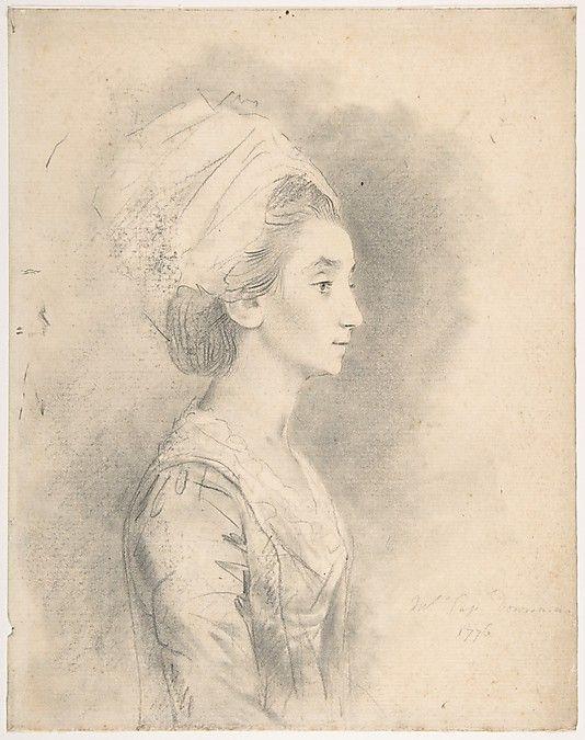 Mrs. Downman, sister-in-law of the artist, 1776, Met 59.23.30