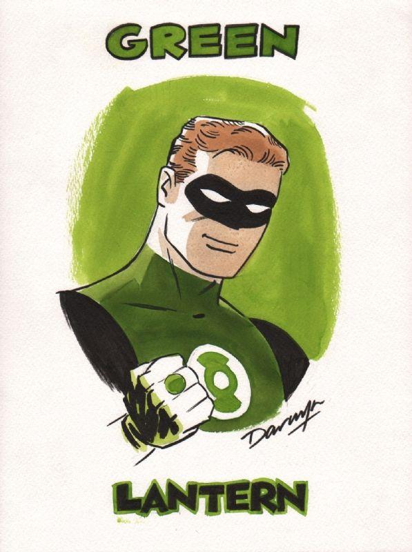 Green Lantern by Darwyn Cooke