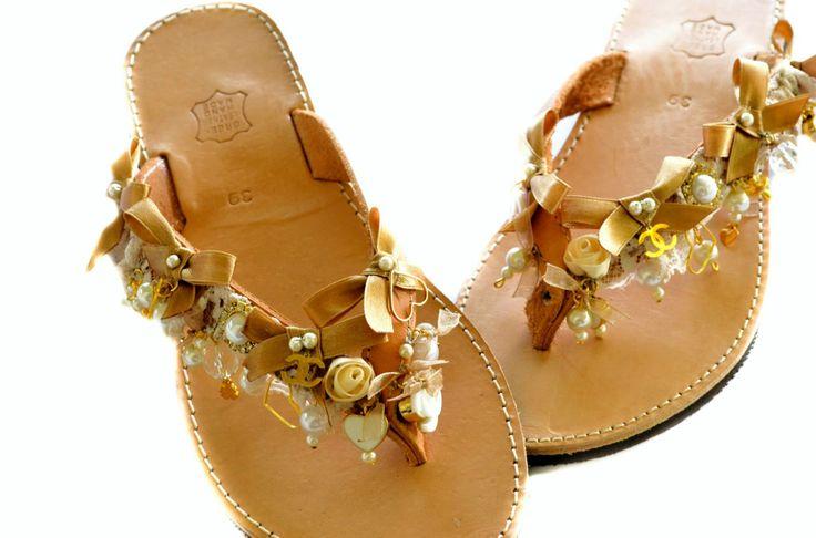 handmade flip flops