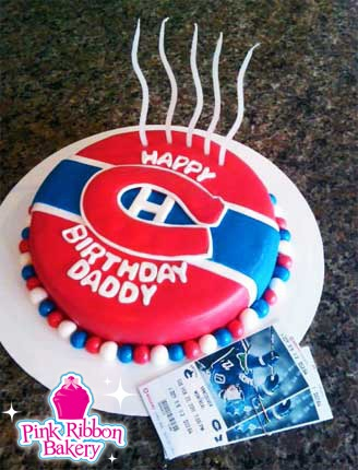 Montreal Canadiens Birthday Cake cute idea