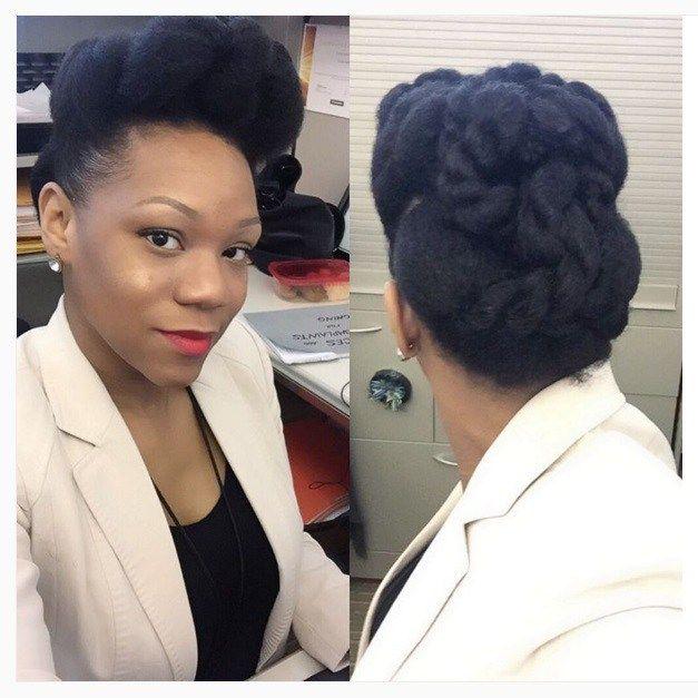 Wondrous 17 Best Images About Pompadour On Pinterest Mohawks Black Women Short Hairstyles For Black Women Fulllsitofus