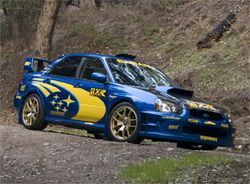 The 2005 Subaru WRX Sti was designed after World Rally Championship vehicles on the European Circuit  #CarCredit #YouAreApproved www.carcredittampa.com