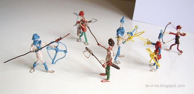 проволочные рыцари