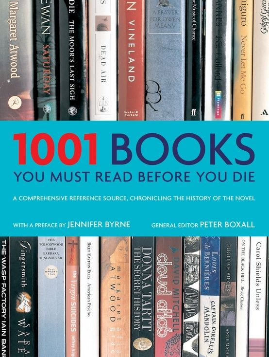 Book bucket list.
