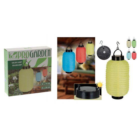 Groene waterproof solar lantaarn