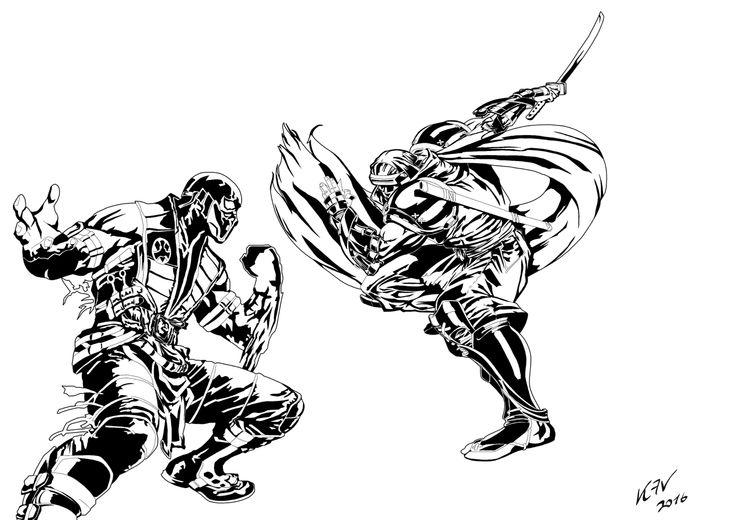 Sub-Zero VS Hattori Hanzo WHO WINS?!?