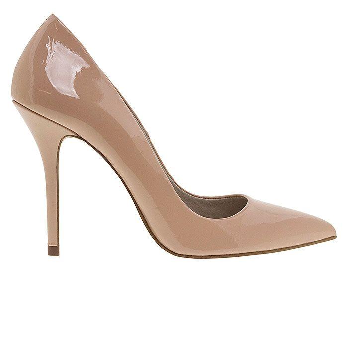 100400-NUDE PATENT www.mourtzi.com #pumps #heels #mourtzi #nudes