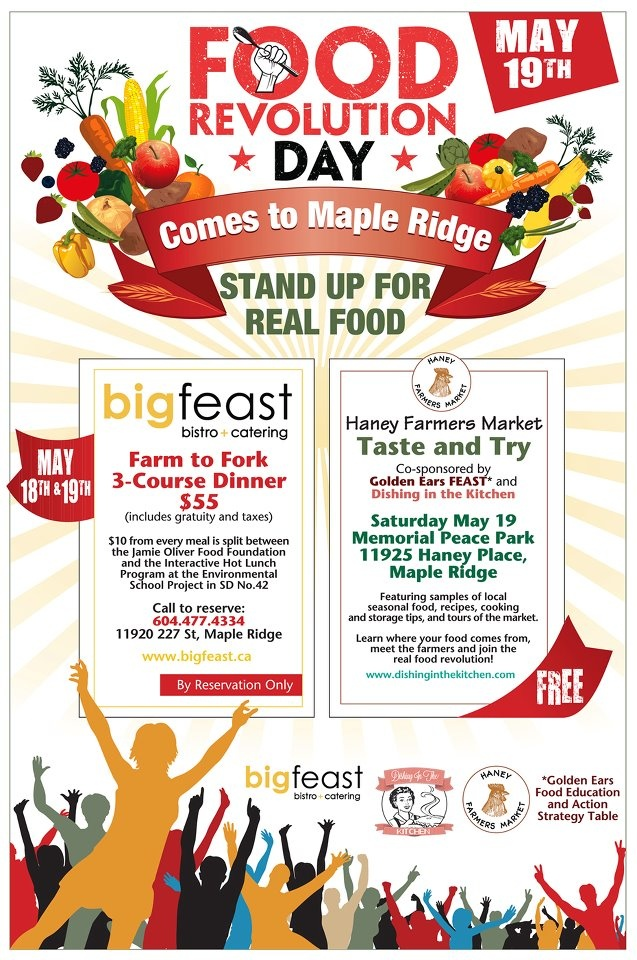 Food Revolution Day comes to Maple Ridge May 19th, 2012