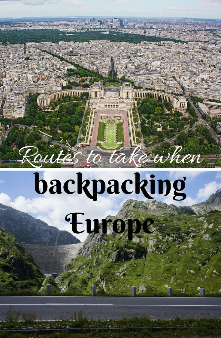 Check out these backpacking Europe routes to get you inspired | Euro | Eurotrip | Germany | Spain | Italy | France | Prague | Berlin | Sweden | Ukraine | Poland | Hungary | Budapest | Slovakia | Bratislava | Vienna | Austria | Cologne | Paris | France | Edinburgh | Scotland | Stockholm