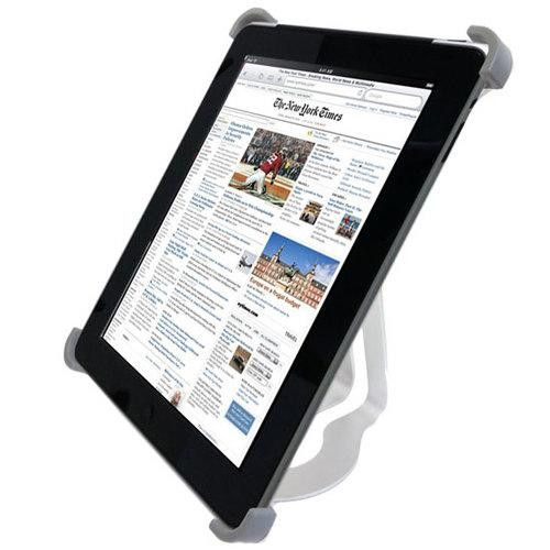 Hands-Free Desktop Stand For Apple iPad 3G/WIFI Tablet Reader Multi-Purpose Aluminum Holder, 360° Rotating Dock/Cradle