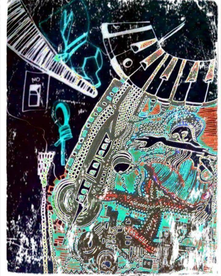 "4 Me gusta, 1 comentarios - LinaCeballos (@linaceballos_) en Instagram: ""Dancer in the Dark  # Paint #Dibujo #Draw  #Art  #Arte #dancerlife #digitalart #artista #artiste…"""