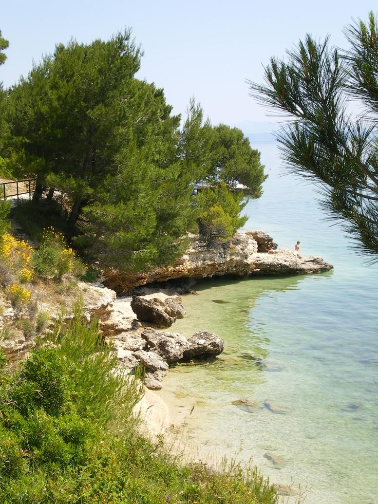 Near Baska Voda, Croatia