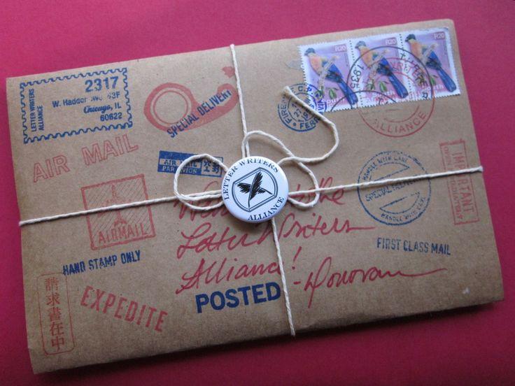 Best Snail Mail  Package Wrap  Parcel  Envelope  Mail Art