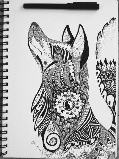 Resultado de imagen para dibujos de mandalas de animales