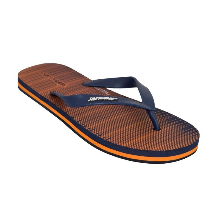 Jet Navy Orange Flip Flops - Flip-Flops - Men