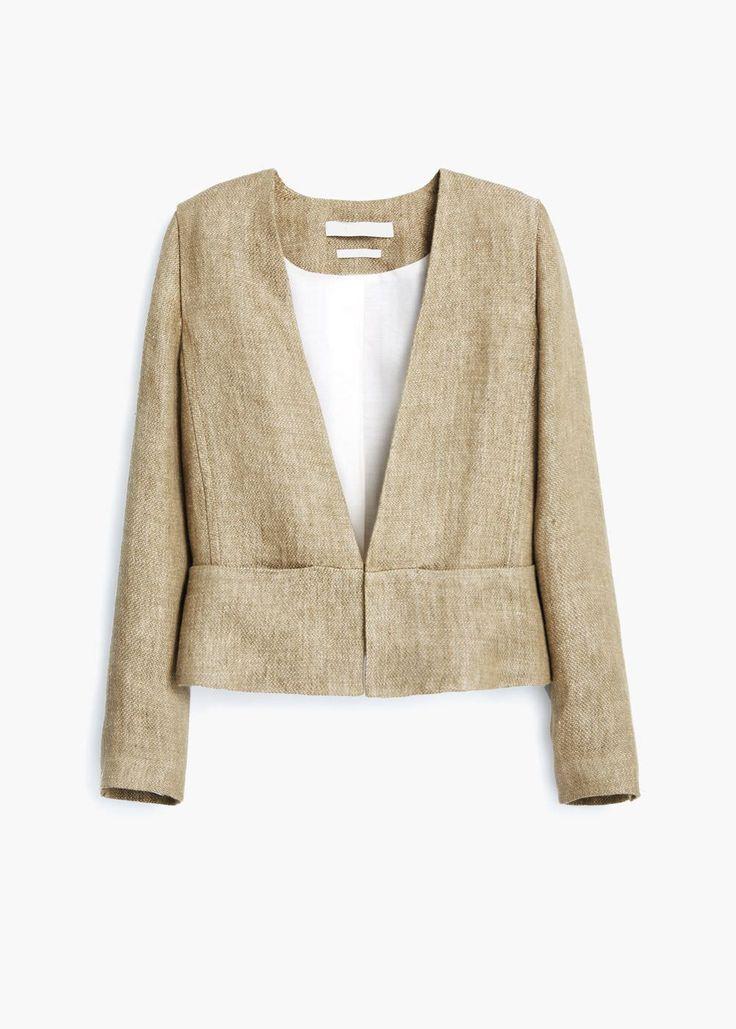 PREMIUM - Linen jacket