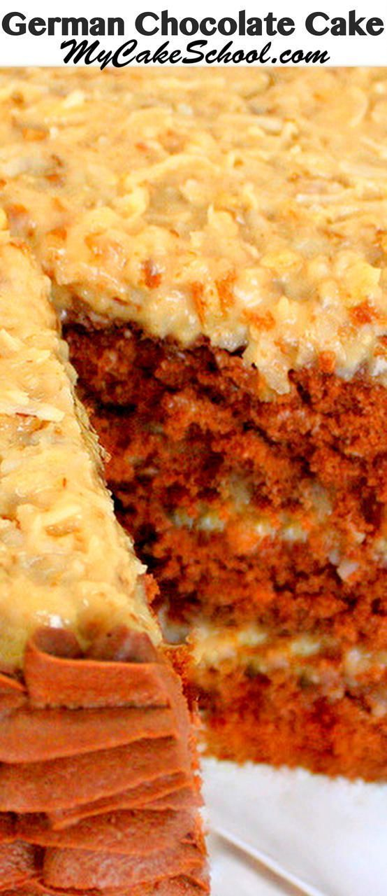 The BEST German Chocolate Cake Recipe from scratch! Moist German Chocolate cake … – Recipes