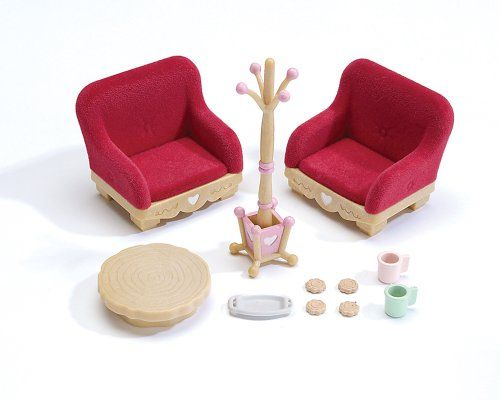 find this pin and more on sylvanian families calico critters country living room furniture - Sylvanian Families Living Room Set