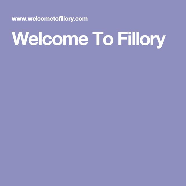 Welcome To Fillory