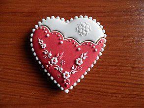 Dekorácie - Valentínsky medovník č.2 - 2154202