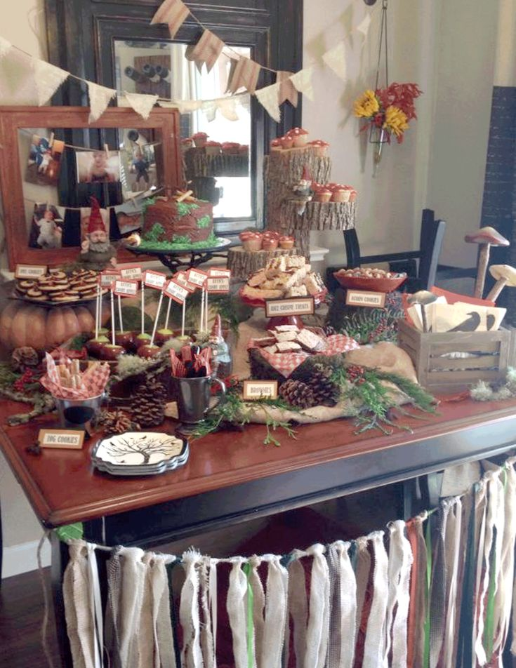 Project Nursery - Woodland Dessert Table