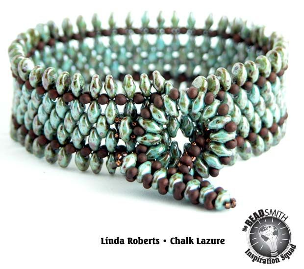 Beading Tutorial Spice Bracelet Pattern Right by beadsforever