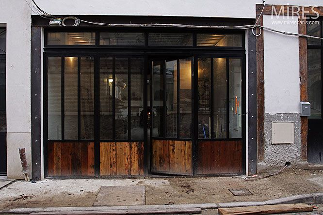17 meilleures images propos de cloison atelier sur pinterest cuisine porches arri res et. Black Bedroom Furniture Sets. Home Design Ideas